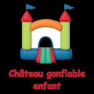 Château gonflable enfant