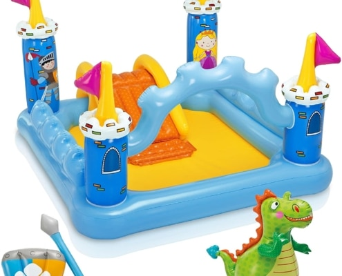 château gonflable dragon