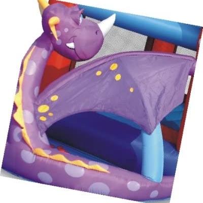 structure gonflable dragon violet